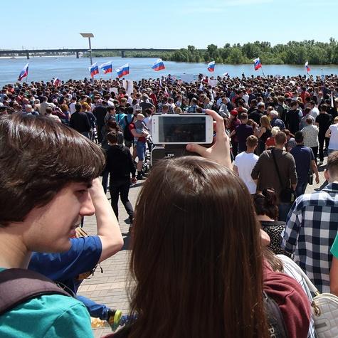 Митинг 12 июля - рекордный по количеству участников!