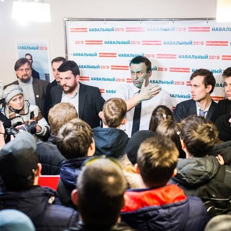 выступление Алексея на открытии штаба