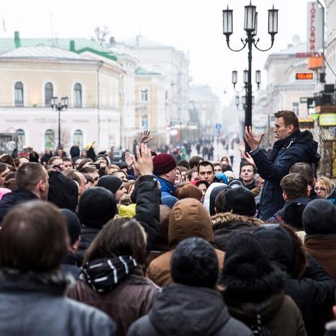 Встреча Навального с волонтерами