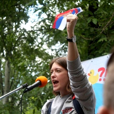 Выступление на митинге 12 июня