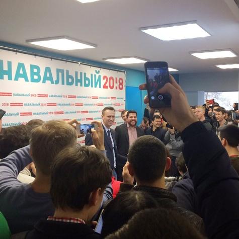 Открытие штаба в Волгограде