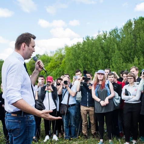 Открытие штаба — речь Алексея перед волонтёрами