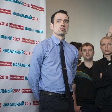 Координатор хабаровского штаба Алексей Ворсин