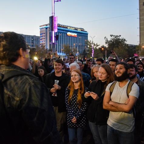 Митинг 7 октября #ЗаНавального