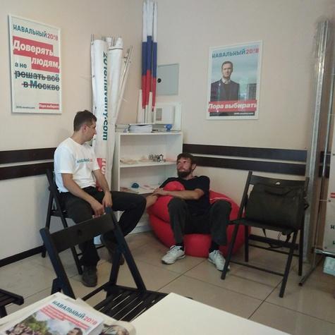 политические беседы в штабе
