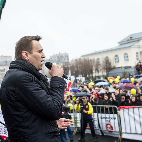 Навальный намитинге вЧелябинске