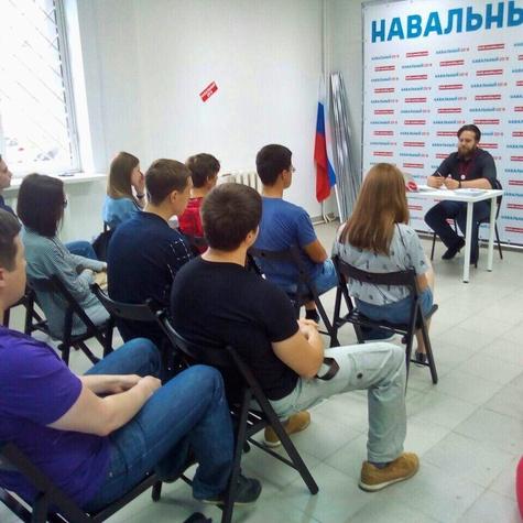 Регулярная субботняя встреча с волонтерами