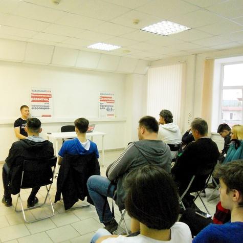 Лекция в штабе