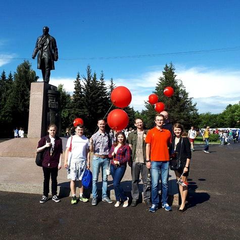 Праздничная выездная агитпрогулка в День города Рыбинска