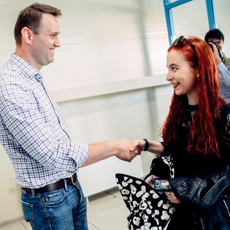Долгожданная встреча с Алексеем Навальным