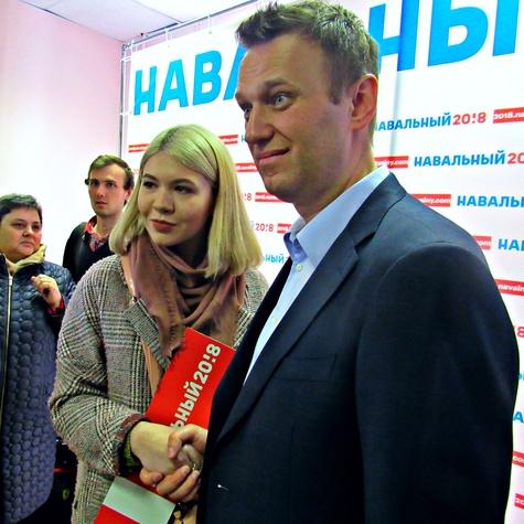 Навальный во владимирском штабе