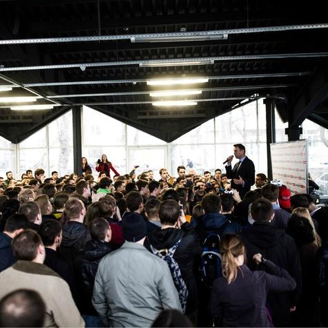 Встреча Навального с волонтёрами